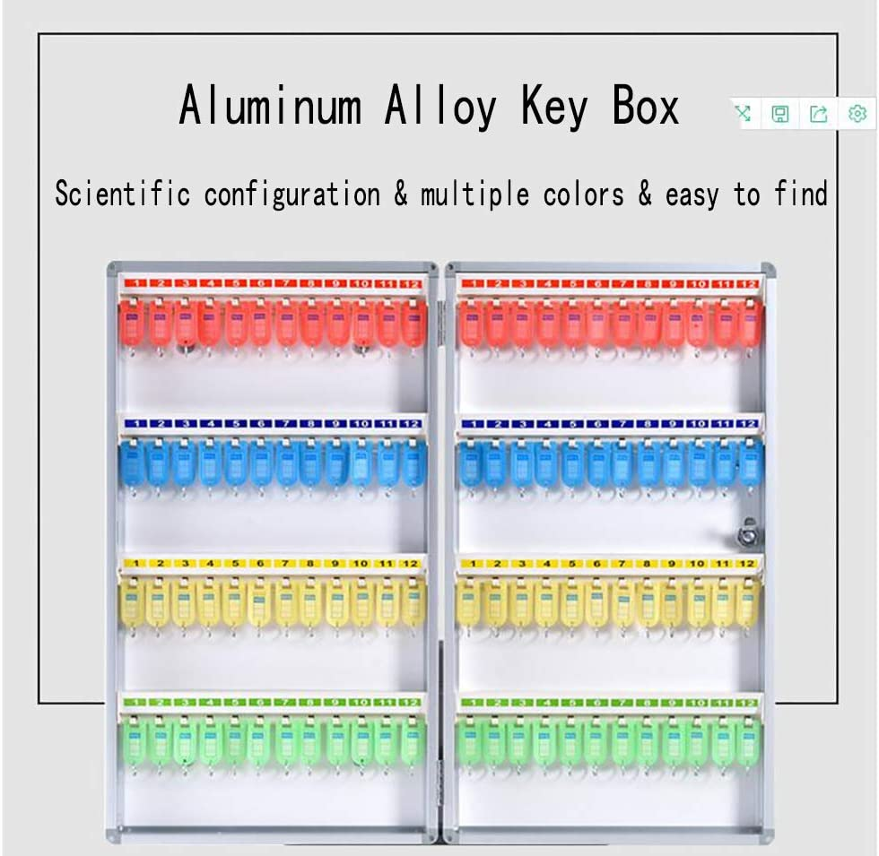24 Position 24 Position Key Box Safe Combination Key Cabinet with Lock,can Install on Wall
