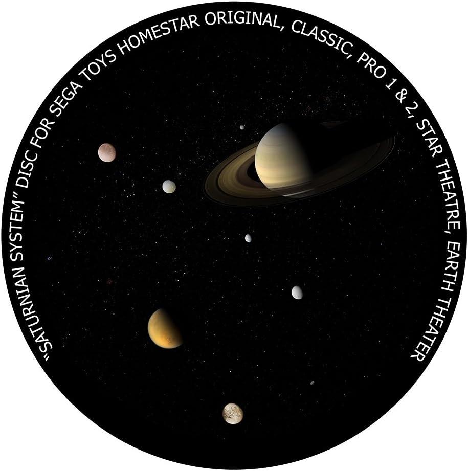 Saturnian System - disc for Sega Toys Homestar Classic/Flux/Original Planetarium
