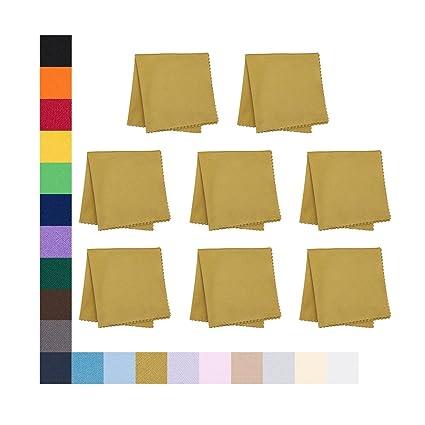 100 piezas Microfibra Gafas de lente de cámara de pantalla color mezclado opule Paño De Limpieza