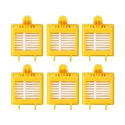 efluky Kit filtros HEPA repuestos de Accesorios para iRobot Roomba Serie 700 720 750 760 765