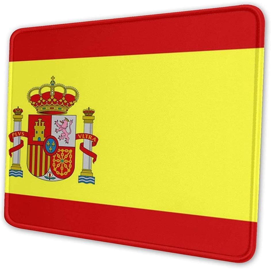 OKME Custom Alfombrilla para Ratón,Bandera De España Alfombrillas De Ratón Antideslizantes para Juegos Alfombrillas De Goma Lavables Rectangulares para Computadora/Computadora Portátil, 30 Cm X 25 Cm: Amazon.es: Electrónica