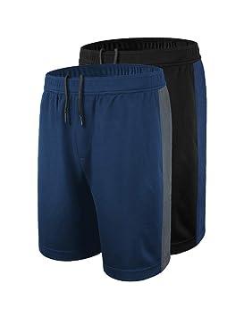 DISHANG Pantalones Cortos de Básquetbol de Rendimiento para Hombre ...