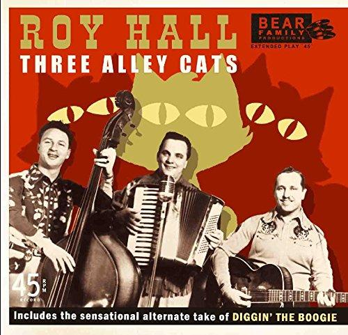 Vinilo : Roy Hall - Three Alley Cats (7 Inch Single)