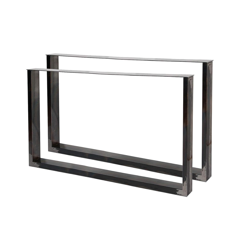 Bastidores para mesa 64x40 cm Acero lacado claro Caballetes para ...