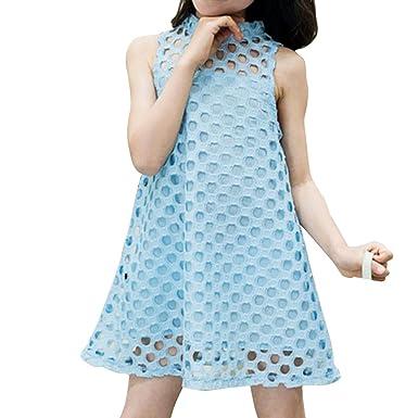 Gladiolus Mädchen Kleiden Sleeveless Sommerkleider Prinzessin Partei ...