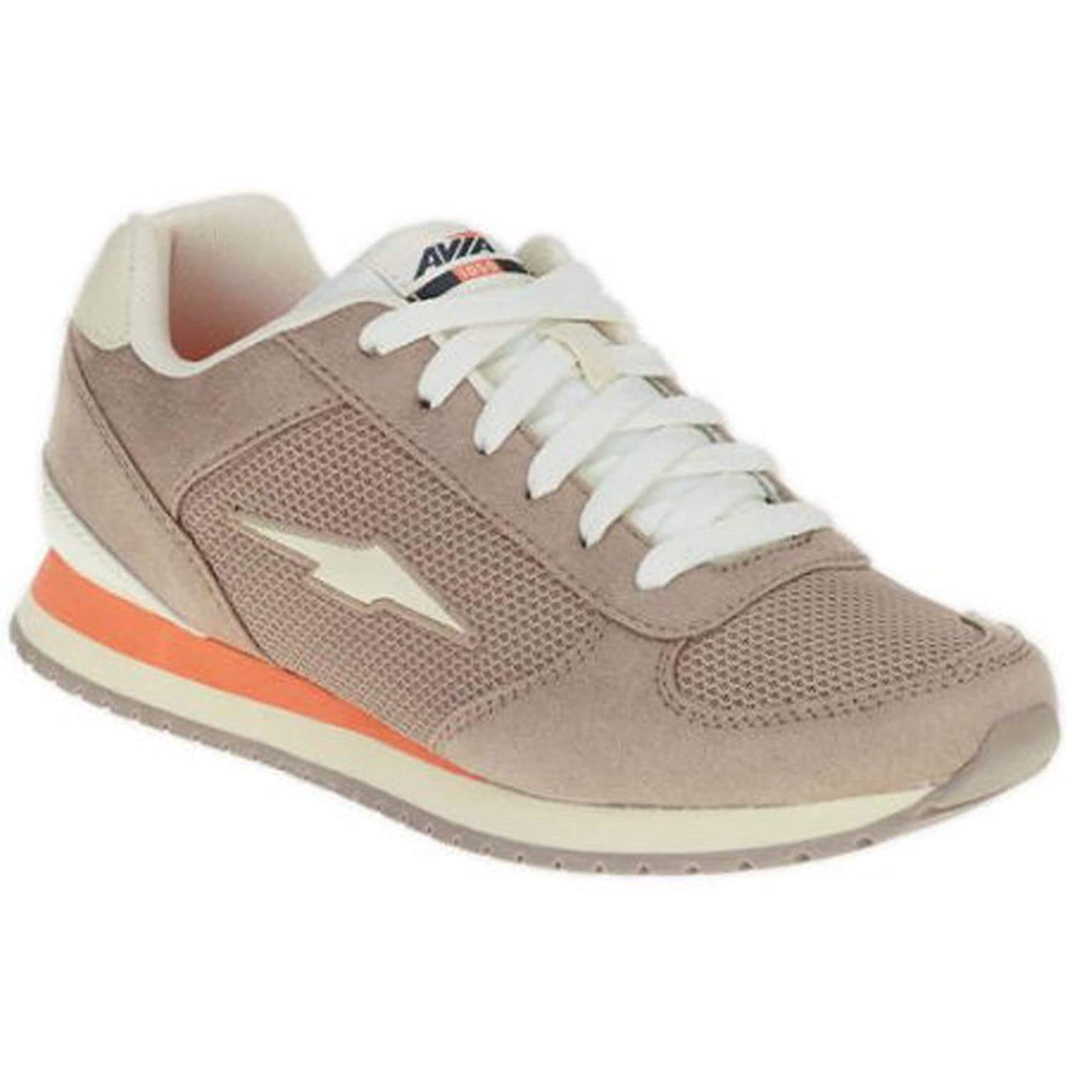 Avia Women's Retro Jogger Shoe Tan / Gray