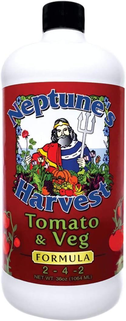 Neptune's Harvest Tomato & Veg Fertilizer 2-4-2