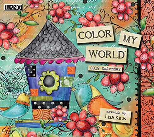 The LANG Companies Color My World 2019 Wall Calendar (19991001854) from The LANG Companies