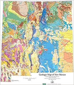 New Mexico On World Map.Geologic Map Of New Mexico 1 500 000 Peter A Scholle