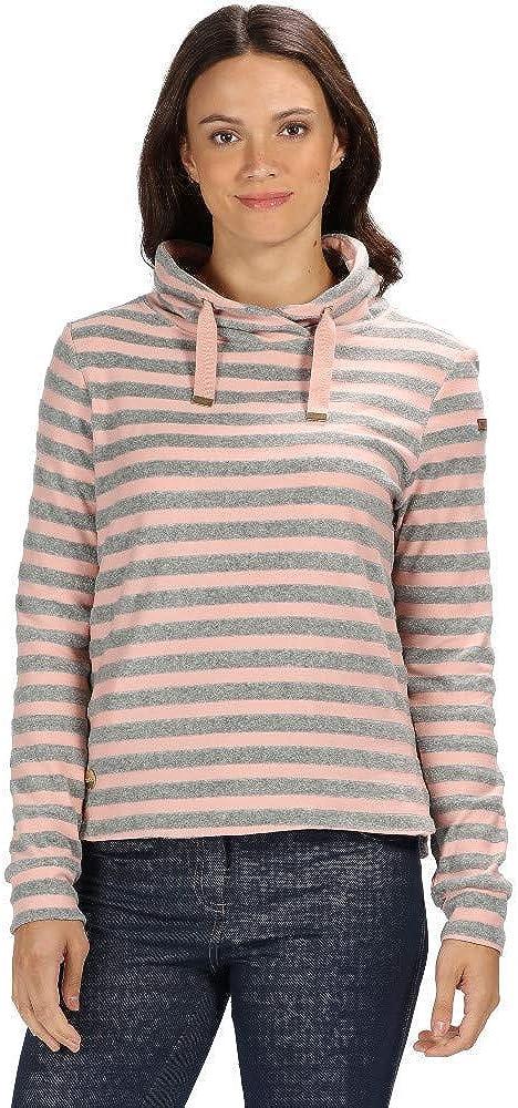 Regatta Damen Celestia Cotton Wrap Over Neck Pullover Fleece
