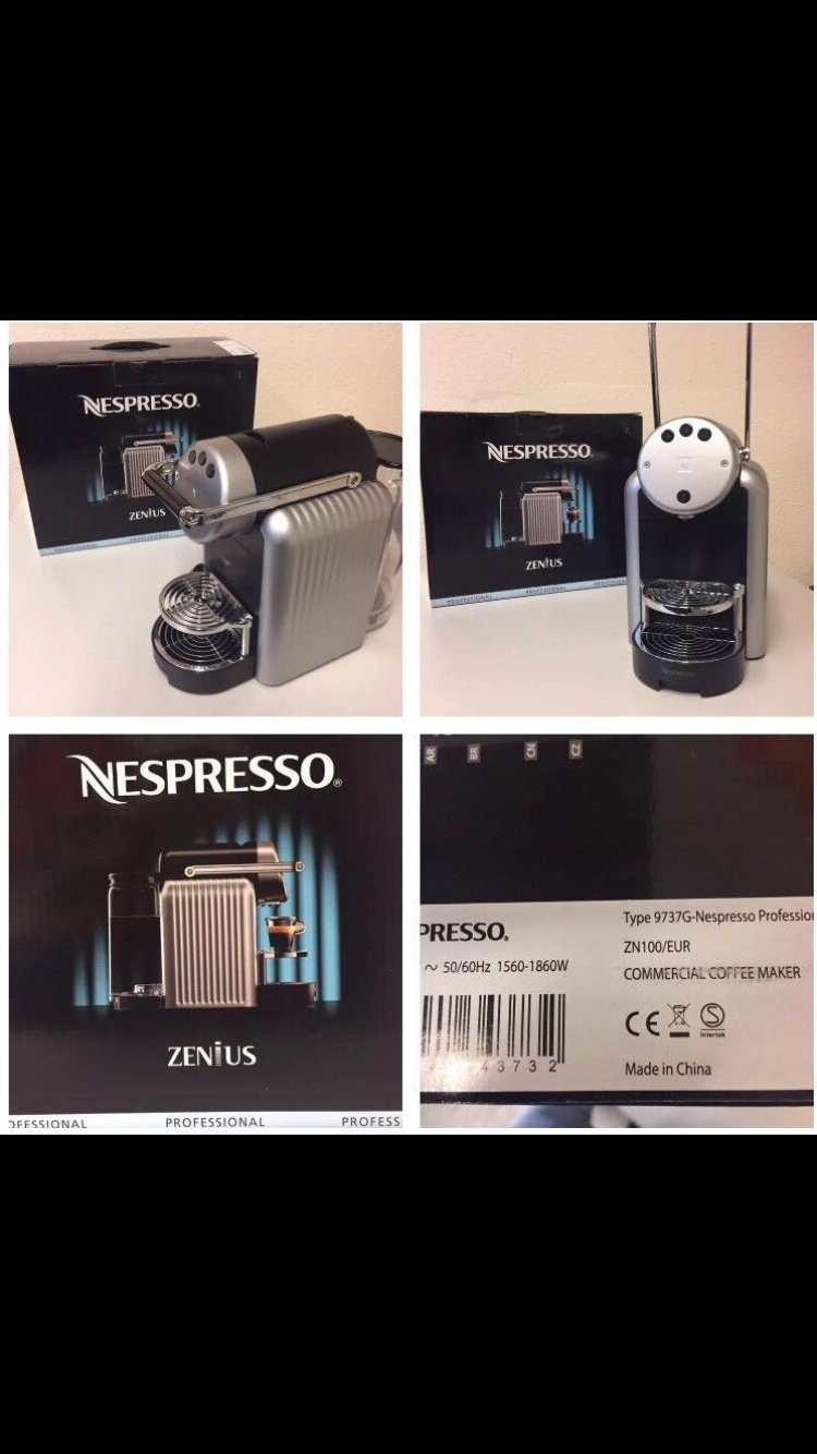 Nespresso Zenius zn100 Pro: Amazon.es: Hogar