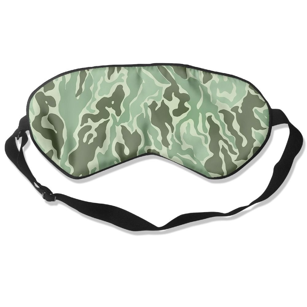 Camouflage Texture Art Fun Sleep Eyes Masks - Comfortable Sleeping Mask Eye Cover For Travelling Night Noon Nap Mediation Yoga