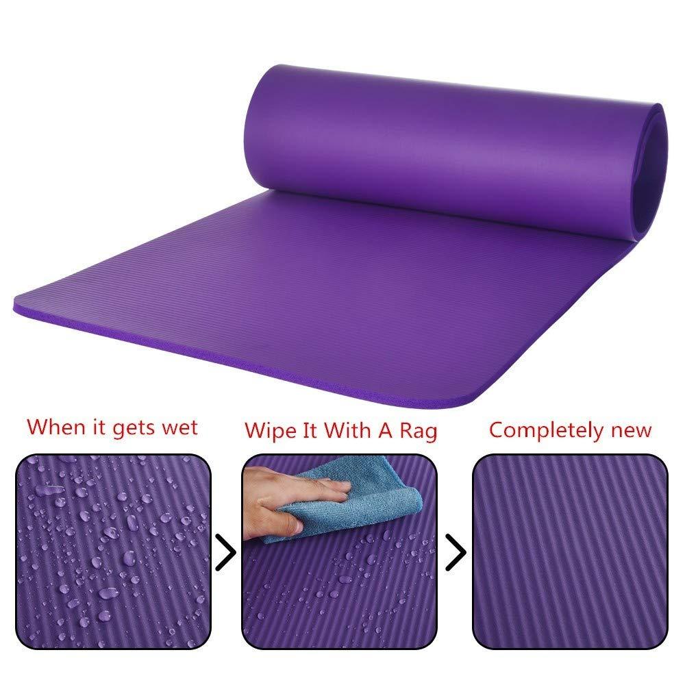 Amazon.com - Denzar Yoga Mat Premium 15MM Extra Thick ...