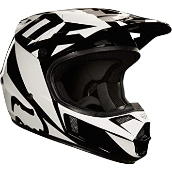 Amazon.com: Fox Racing 2018 Youth V1 Casco - Race, S: Automotive