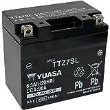 YUASA 台湾 ユアサ バイク用 バッテリー 液入 TTZ7SL (YTZ7S / TTZ7S / FTZ7S / GTZ7S / CTZ-7S 互換)