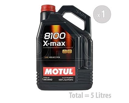 MOTUL 8100 X-Max 0 W-40 Aceite de motor de coche totalmente ...