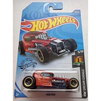 Hot Wheels 2020 Hw Dream Garage Mod Rod, Red 109/250: Toys & Games