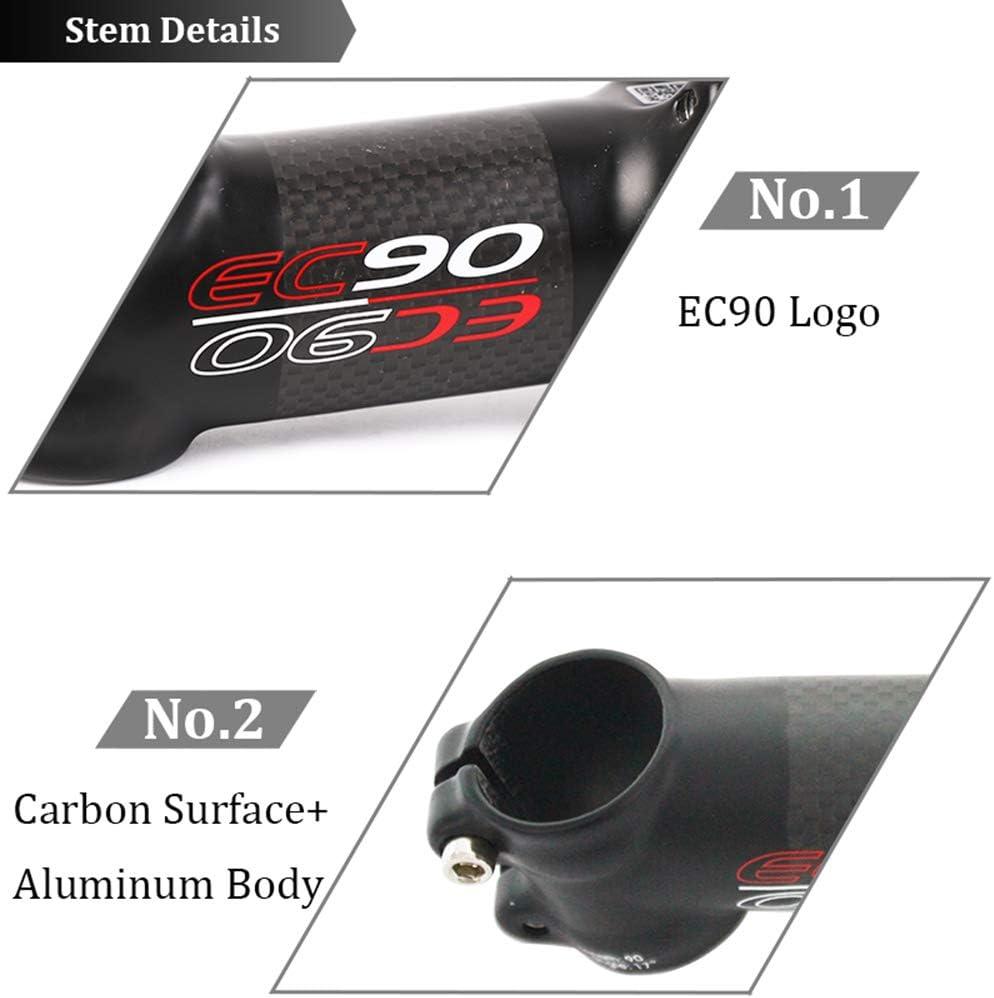 EC90 6//17° Bar Stem 31.8*60-120mm Length Carbon+AL MTB Road Bike For 28.6mm Fork