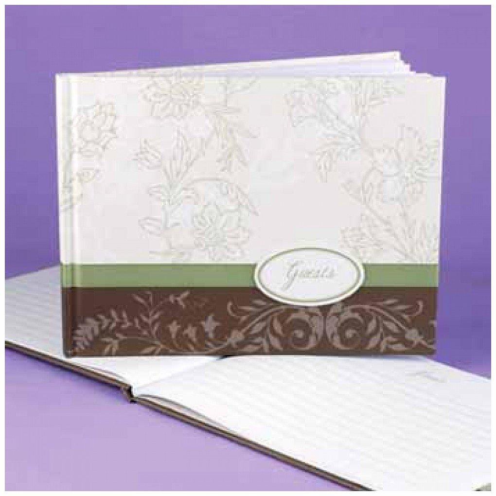 Floral Fashion Guest Book
