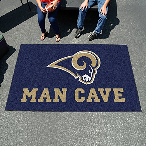 St Louis Rams Man Cave UltiMat Rug 60''x96'' - FAN-14374 by Fanmats
