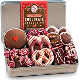 Golden State Fruit Valentines Day Premium Handmade Chocolate Collection In Gift Tin