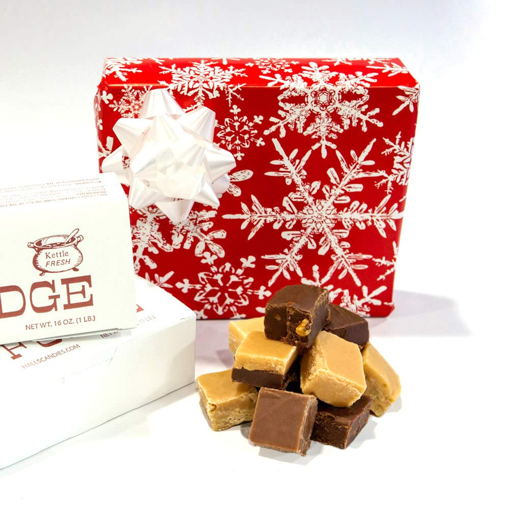 Winter Wishes - Assorted Fudge Gift Box - Hall's Candies by Hall's Candies