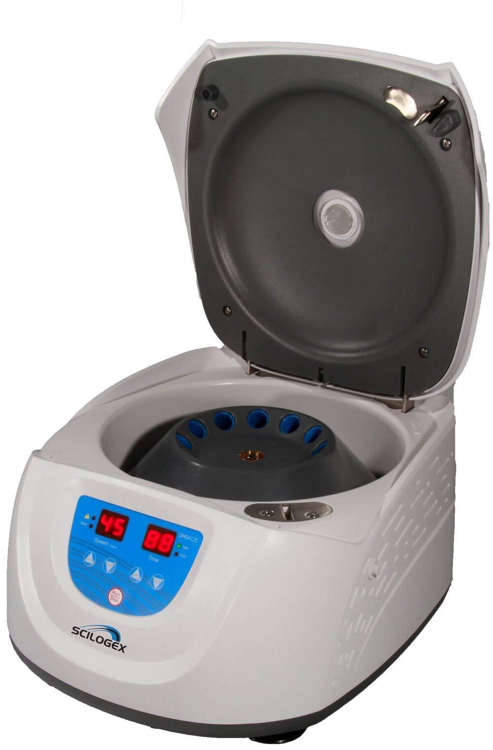 Scilogex 943083439999 DM0412S LED Clinical Centrifuge, 110V, 50/60Hz, US Plug