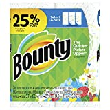 Bounty Select-A-Size Paper Towels, Print, Large Rolls, 2 Count (25% More Sheets)