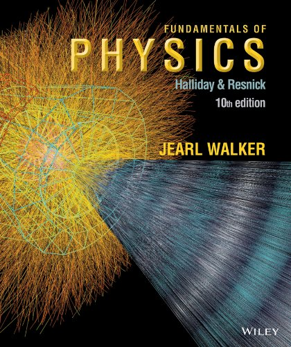 Fundamentals of Physics 10e + WileyPLUS Registration Card (Wiley Physics Access)