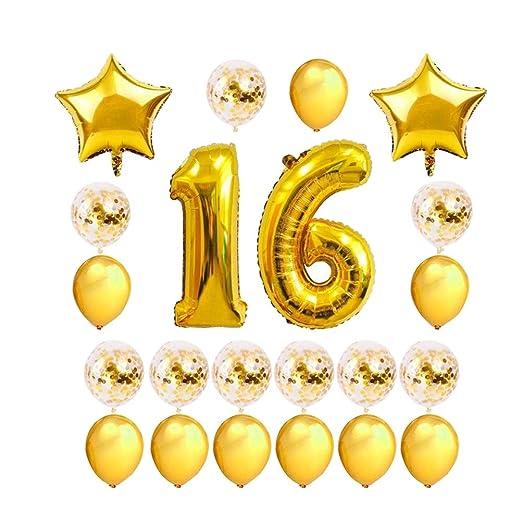 FENICAL 24 Piezas de Decoraciones para Fiestas de cumpleaños ...