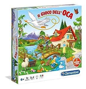 Clementoni Il Gioco dell'Oca - Juego de tablero (Multi)