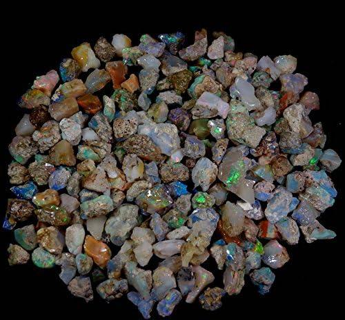Naturel /Éthiopien Multi Couleur Opale de premiers vente en gros Lot pierres pr/écieuses RADHEY KRISHNA GEMS 251/cts