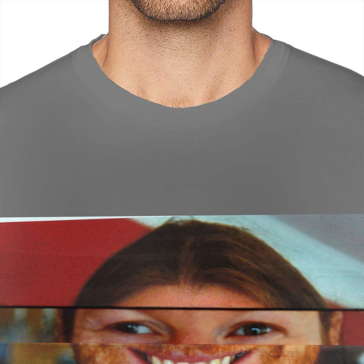UP-ARP Mens Aphex Twin Tee T-Shirt Black