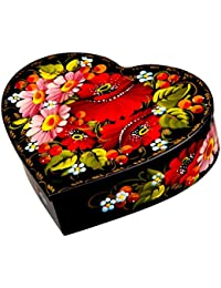 Amazoncom Heartshaped Jewelry Boxes Jewelry Boxes