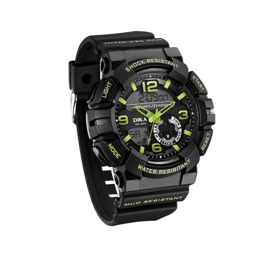 デュアルスポーツ腕時計/防水時計/学生watch-c B06XJK2NMH