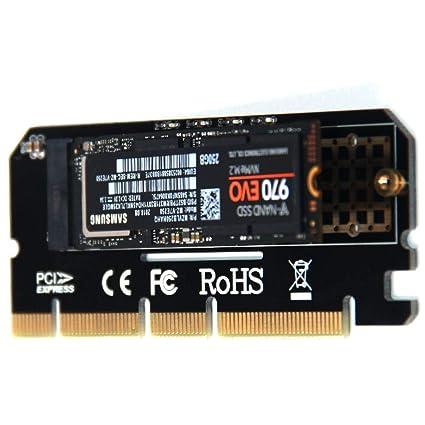 Tarjeta de expansión, M.2 NVMe SSD NGFF a PCIE 3.0 X16 ...