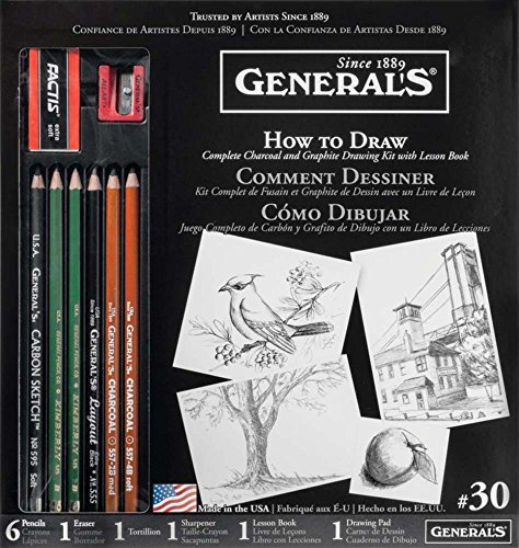 General Pencil How To Draw Kit (30GP) by General Pencil