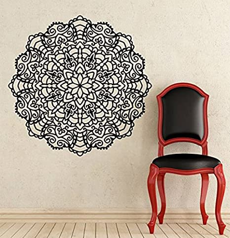 Amazon.com: Mandala Calcomanía de pared Yoga Studio – Vinilo ...