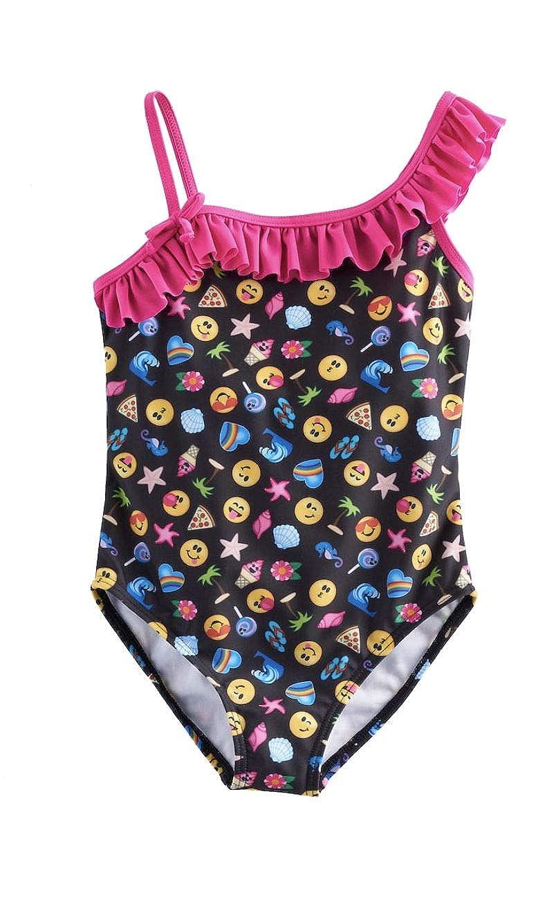 Emoji Girls One Piece Swimsuit