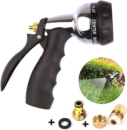 Messing Wasserpistole Gartenbrause Auto wäsche Reinigung Spritzpistole Metall