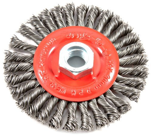 Forney Wire Wheel 4 '' Stringer Bead Twist
