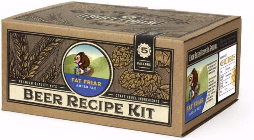 Craft A Brew - Home Brewing Ingredient Kit (5 Gallons) (Fat Friar Amber Ale)