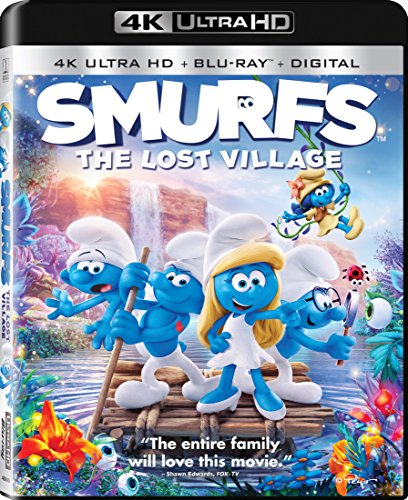 Smurfs: The Lost Village [Blu-ray] (Jordan French Blue 7)