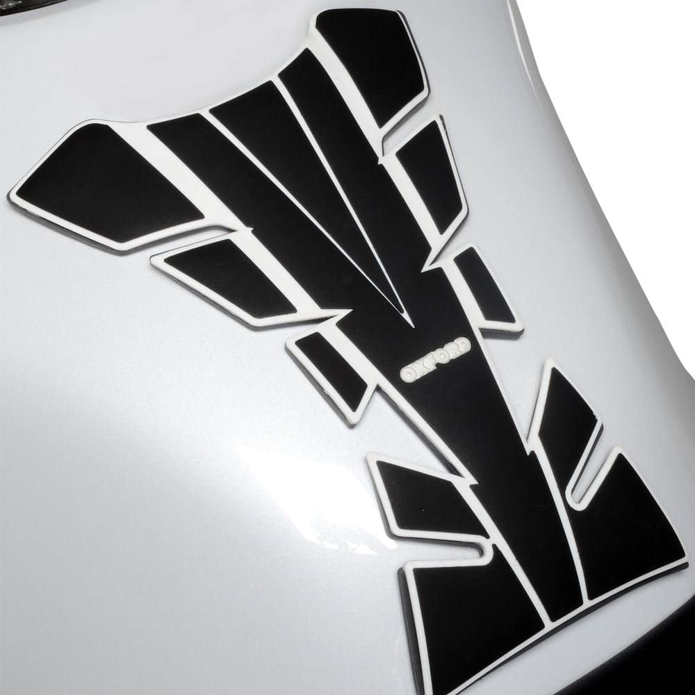 Wing Mirrors World YAMAHA FJR1300 Oxford OX521 Motorcycle Bumper Essential Tank Protector Pad White