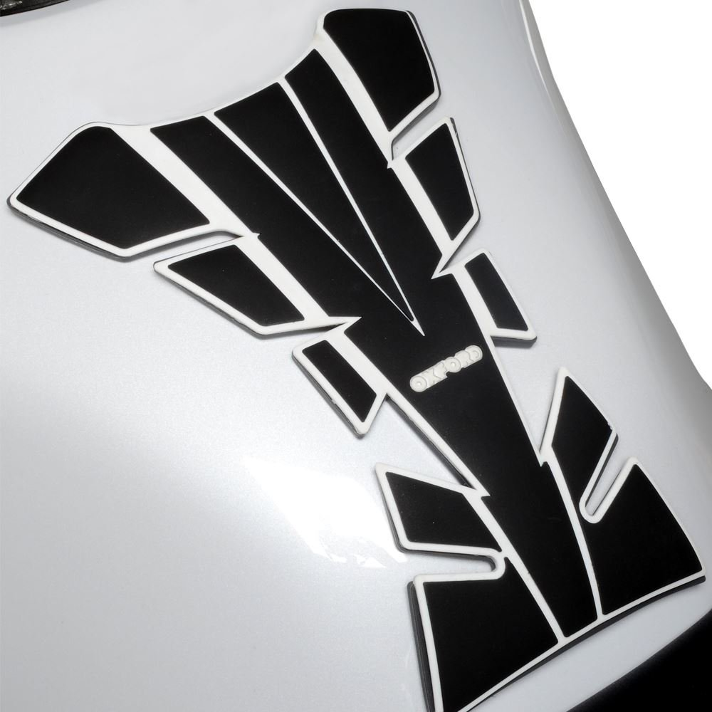 Wing Mirrors World YAMAHA TRACER 700 Oxford Motorcycle Bumper Essential Tank Protector Pad White