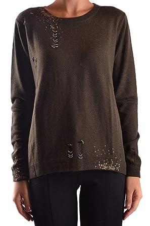 758fb6d8df7 Pinko Women's AZIOX18 Green Wool Sweater at Amazon Women's Clothing ...