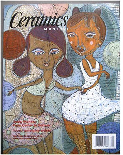 Ceramics Monthly May 2008, Jenny Mendes, Potter Jack Doherty, Sculptor Jeff Pender, Patrick Siler, Tammie Rubin, Vincent R. Clemente