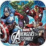 Avengers Assemble NEW Birthday Party Lunch Dinner Plates (8 per pkg)