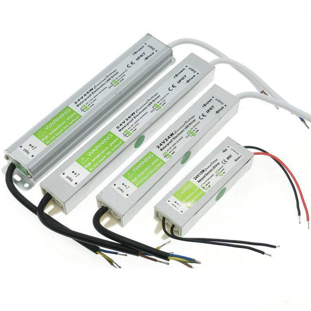DC24V IP67 Waterproof LED Driver Power Supply Transformer for LED Strip Sign PSU (30W) DAN