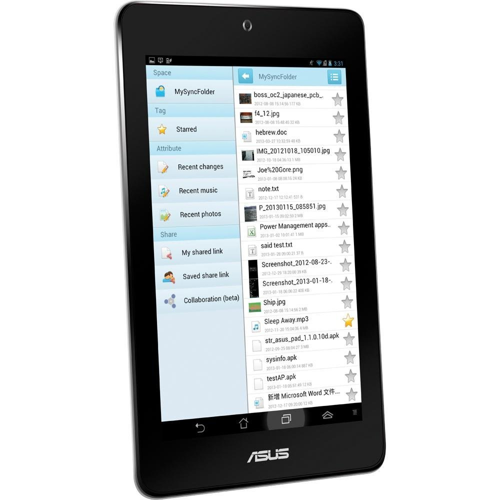 Amazon com: ASUS MeMO Pad HD 7-Inch Touchscreen Tablet with
